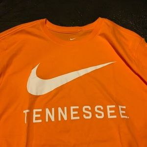 795b2d3fe Nike Shirts | Tennessee Volunteers Mens Dri Fit Orange Tee | Poshmark